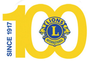 Logotype du centenaire du LIONS Club International